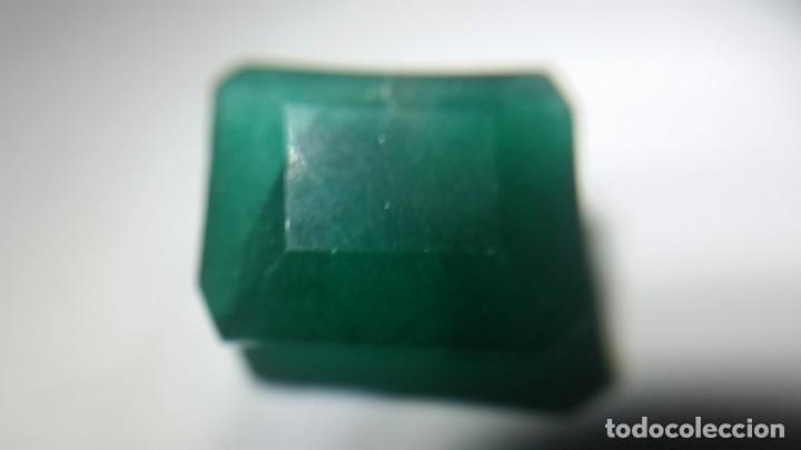Coleccionismo de gemas: Esmeralda Natural de Colombia. Talla Tradicional. Sin tratar. con 12.20 Ct. - Foto 4 - 190014623