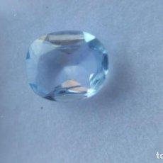 Coleccionismo de gemas: AGUAMARINA AZUL NATURAL DE AFGANISTAN CON TALLA OVAL DE 1.40 CT.GARANTIZADA 100%. REBAJADA UN 65%.. Lote 190354540