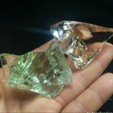 Collectionnisme de gemmes: 2 RARAS TANZANITAS NATURALES MONO ATÓMICAS ANDARÁ CRISTAL ARCTURIAN FUEGO ELESTIAL DE 318 CT.. Lote 190754437