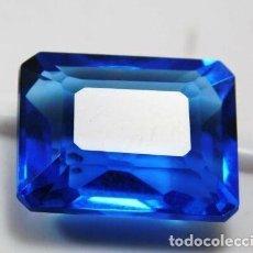 Coleccionismo de gemas: TANZANITA AZUL FLUX TALLA OCTAGONAL CON 9.30 CT.. Lote 191042648
