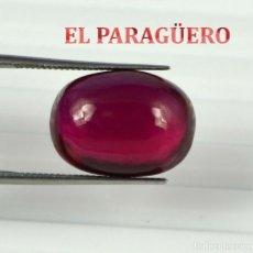 Coleccionismo de gemas: RUBI CABUCHON ROJO DE 14,45 KILATES CON CERTIFICADO AGI - MEDIDA 1,5 X 1,1 X 0,6 CENTIMETROS Nº12. Lote 191848805