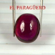 Coleccionismo de gemas: RUBI CABUCHON ROJO DE 12,35 KILATES CON CERTIFICADO AGI - MEDIDA 1,4 X 1,1 X 0,6 CENTIMETROS Nº13. Lote 191848908