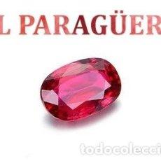 Coleccionismo de gemas: ESPINELA ROJA DE 9,85 KILATES CON CERTIFICADO AGI - MEDIDA 1,3 X 0,9 X 0,7 CENTIMETROS Nº6. Lote 191849086