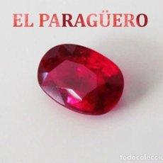 Coleccionismo de gemas: ESPINELA ROJA DE 7,90 KILATES CON CERTIFICADO AGI - MEDIDA 1,2 X 0,8 X 0,7 CENTIMETROS Nº19. Lote 191849235