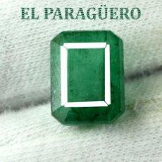 Coleccionismo de gemas: ESMERALDA DE 5,30 KILATES CON CERTIFICADO AGI - MEDIDA 1,1 X 0,9 X 0,6 CENTIMETROS Nº32. Lote 191849815