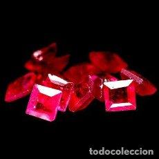 Collezionismo di gemme: RUBI CUADRADO 3,0 X 3,0 MM.. Lote 217382551
