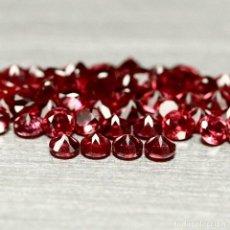 Coleccionismo de gemas: RODOLITA REDONDO 2,3 - 2,5 MM.. Lote 214944958