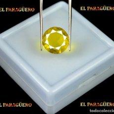 Coleccionismo de gemas: TITANITE DE 4,80 KILATES CON CERTIFICADO AGI - MEDIDA 1,1 X 1,1 X 0,5 CENTIMETROS Nº8. Lote 191944575
