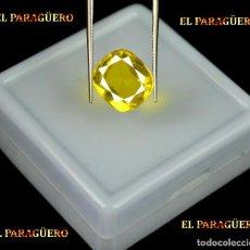 Coleccionismo de gemas: TITANITE DE 4,30 KILATES CON CERTIFICADO AGI - MEDIDA 1,1 X 1,0 X 0,6 CENTIMETROS Nº9. Lote 191944593