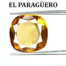 Coleccionismo de gemas: APATITA DE 4,80 KILATES CON CERTIFICADO AGI - MEDIDA 1,1 X 1,1 X 0,5 CENTIMETROS Nº5. Lote 191944726