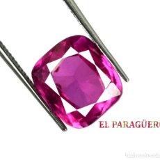 Coleccionismo de gemas: MORGANITA DE 7,50 KILATES CON CERTIFICADO AGI - MEDIDA 1,0 X 0,9 X 0,6 CENTIMETROS Nº5. Lote 191945298