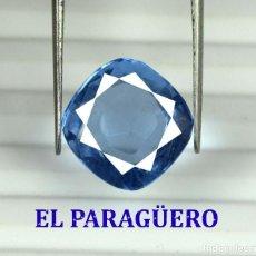 Coleccionismo de gemas: TOPACIO AZUL DE 6,85 KILATES CON CERTIFICADO AGI - MEDIDA 1,2 X 1,1 X 0,6 CENTIMETROS Nº2. Lote 192106208