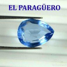 Coleccionismo de gemas: TOPACIO AZUL DE 5,80 KILATES CON CERTIFICADO AGI - MEDIDA 1,3 X 1,0 X 0,6 CENTIMETROS Nº5. Lote 192106332