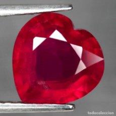 Coleccionismo de gemas: RUBI 9,7 X 9,6 MM.. Lote 192174413