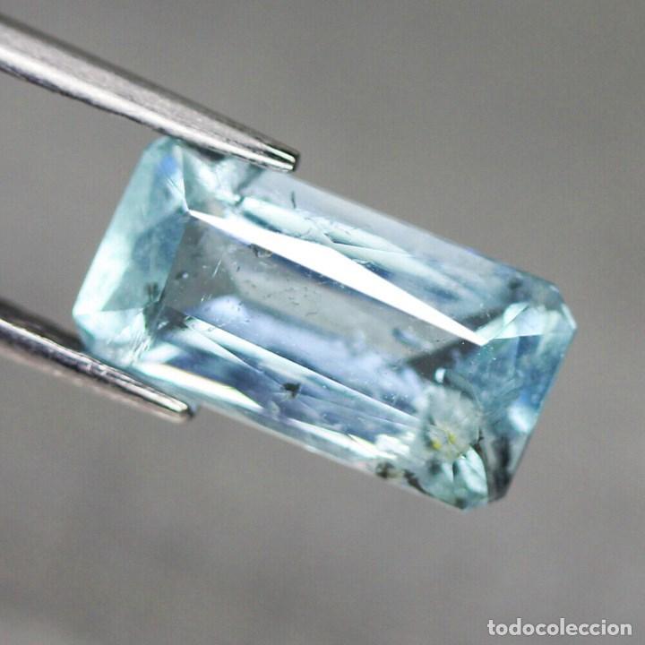 Coleccionismo de gemas: Aguamarina 11,9 x 6,2 mm. - Foto 2 - 192175700