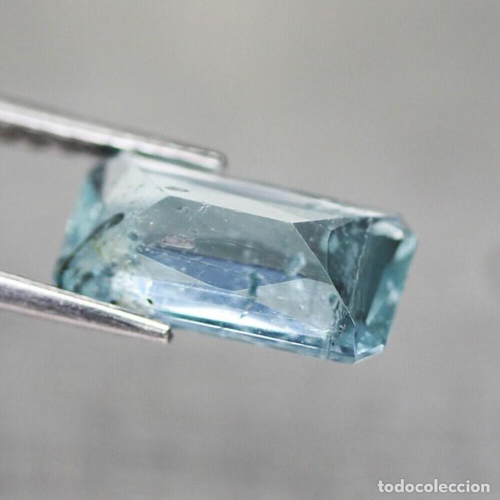 Coleccionismo de gemas: Aguamarina 11,9 x 6,2 mm. - Foto 3 - 192175700