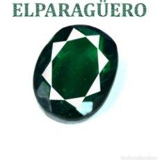 Coleccionismo de gemas: VERDE ESMERALDA DIOPSIDE DE 7,35 KILATES CON CERTIFICADO AGI MEDIDA 1,1 X 0,9 X 0,6 CENTIMETROS Nº13. Lote 192201295