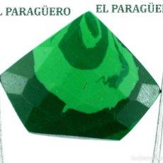Coleccionismo de gemas: MALAQUITA MUY RARA DE 22,75 KILATES CON CERTIFICADO AGI - MIDE 2,8 X 2,2 X 0,7 CENTIMETROS - Nº5. Lote 192296010