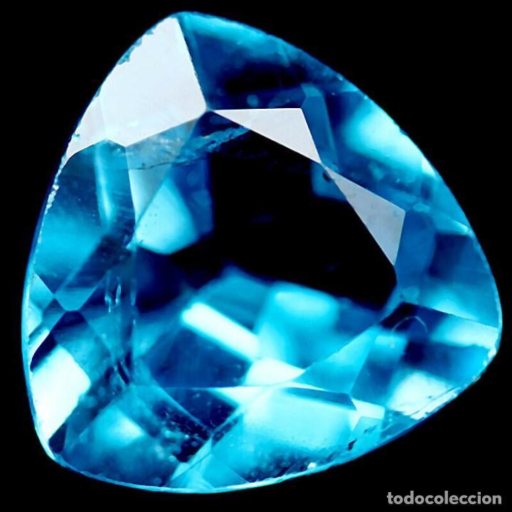 Coleccionismo de gemas: TOPACIO Azul Suizo 12,1 x 12,2 mm. - Foto 2 - 223640670