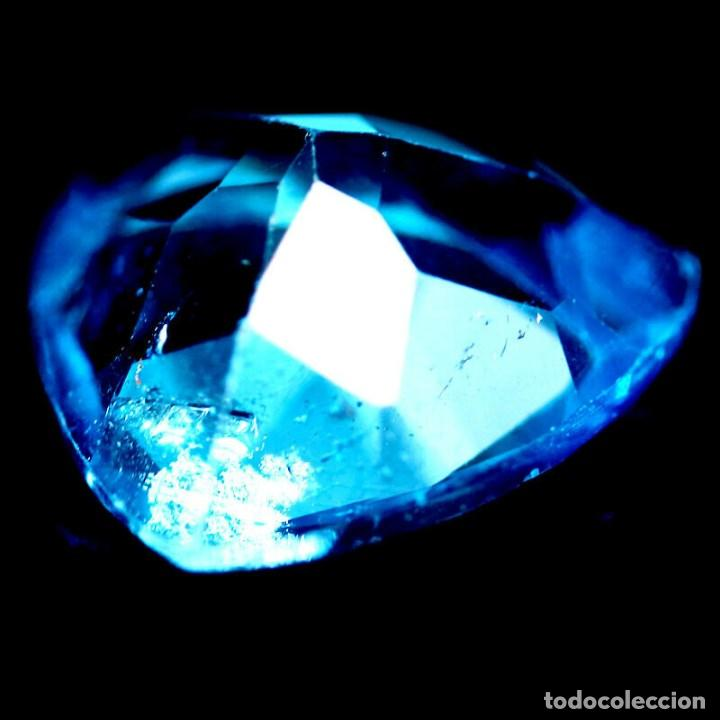 Coleccionismo de gemas: TOPACIO Azul Suizo 12,1 x 12,2 mm. - Foto 3 - 223640670