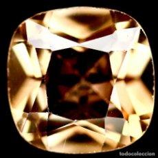 Coleccionismo de gemas: TOPACIO CHAMPAN 7.0 X 7.0 MM. Lote 226152152
