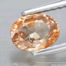 Colecionismo de pedras preciosas: GEMAS 1.04CT 6.2X4.6MM CIRCÓN OVALADO AMARILLO MARRÓN NATURAL SIN CALEFACCIÓN, OVALADO, TANZANIA .. Lote 192753388