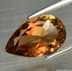 Coleccionismo de gemas: GEMAS TOPACIO NARANJA NATURAL. Lote 192489005