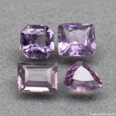 Coleccionismo de gemas: GEMAS LOTE DE 4 PIEZAS ESPINELA PÚRPURA 1.99CT. Lote 193623981