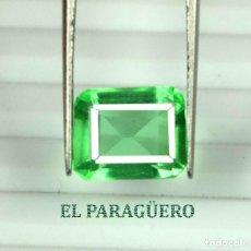Coleccionismo de gemas: DELICIOSA ESMERALDA DE 5 KILATES - MEDIDA 1,0 X 0,8 X 0,6 CENTIMETROS Nº30. Lote 193704092