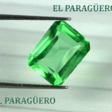 Coleccionismo de gemas: DELICIOSA ESMERALDA DE 6 KILATES - MEDIDA 1,1 X 0,8 X 0,6 CENTIMETROS Nº31. Lote 193705010
