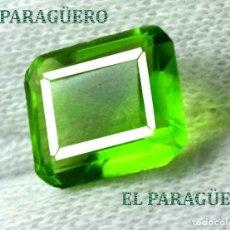 Coleccionismo de gemas: DELICIOSA ESMERALDA DE 7 KILATES - MEDIDA 1,1 X 0,9 X 0,6 CENTIMETROS Nº47. Lote 193710960