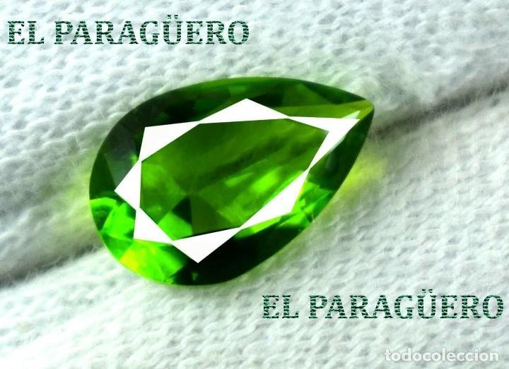DELICIOSA ESMERALDA DE 3 KILATES - MEDIDA 1,2 X 0,8 X 0,5 CENTIMETROS Nº46 (Coleccionismo - Mineralogía - Gemas)