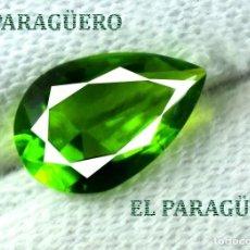 Coleccionismo de gemas: DELICIOSA ESMERALDA DE 3 KILATES - MEDIDA 1,2 X 0,8 X 0,5 CENTIMETROS Nº46. Lote 193711847