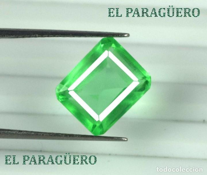 DELICIOSA ESMERALDA DE 9 KILATES - MEDIDA 1,2 X 1,0 X 0,7 CENTIMETROS Nº42 (Coleccionismo - Mineralogía - Gemas)