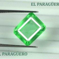 Coleccionismo de gemas: DELICIOSA ESMERALDA DE 9 KILATES - MEDIDA 1,2 X 1,0 X 0,7 CENTIMETROS Nº42. Lote 193721112