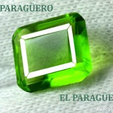 Coleccionismo de gemas: DELICIOSA ESMERALDA DE 9 KILATES - MEDIDA 1,2 X 1,0 X 0,7 CENTIMETROS Nº41. Lote 193723848