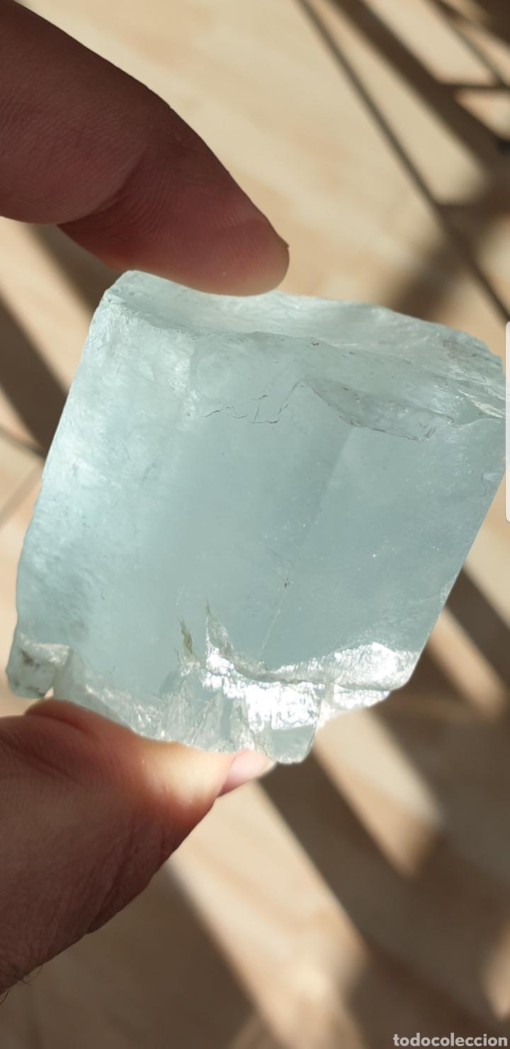 Coleccionismo de gemas: AGUAMARINA EN BRUTO ENORME - Foto 5 - 194102023