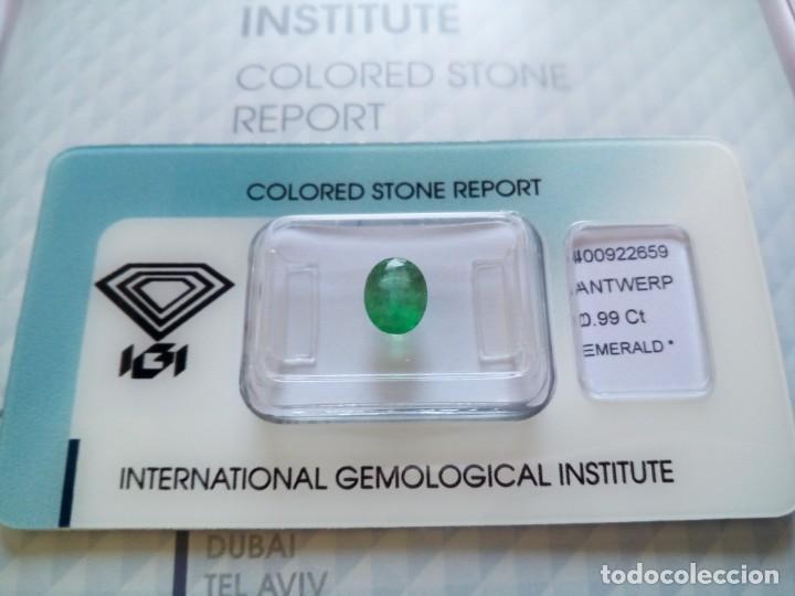 Coleccionismo de gemas: COLECCIÓN PIEDRAS PRECIOSAS CERTIFICADAS IGI - Foto 3 - 194282850