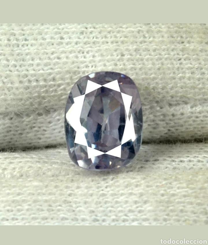 ZAFIRO NATURAL 100% SIN TRATAMIENTO DE 7,80CTS. (Coleccionismo - Mineralogía - Gemas)