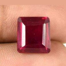 Coleccionismo de gemas: RUBÍ NATURAL BIRMANO 100% SIN TRATAMIENTO DE 7,35 CTS.. Lote 194304127