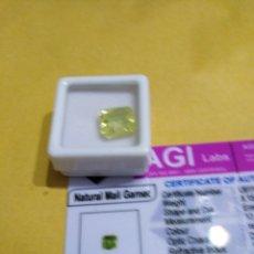 Coleccionismo de gemas: GRANATE DE MALI NATURAL 100% DE 8,15CTS.MUY DIFÍCIL DE CONSEGUIR. Lote 194901201