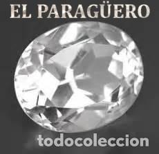 DELICIOSO ZAFIRO BLANCO DE 7,45 KILATES CON CERTIFICADO AGI - MEDIDA 1,2 X 0,9 X 0,5 CENTIMETROS Nº7 (Coleccionismo - Mineralogía - Gemas)