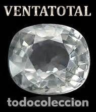 DELICIOSO ZAFIRO BLANCO DE 9,70 KILATES CON CERTIFICADO AGI - MEDIDA 1,2 X 1,0 X 0,7 CENTIMETROS Nº8 (Coleccionismo - Mineralogía - Gemas)