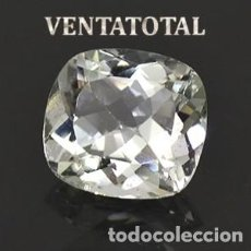 Coleccionismo de gemas: DELICIOSO ZAFIRO BLANCO DE 8,70 KILATES CON CERTIFICADO AGI - MEDIDA 1,1 X 1,0 X 0,6 CENTIMETROS Nº9. Lote 194953486