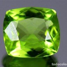 Coleccionismo de gemas: LUJOSO PERIDOT VERDE OLIVA DE 8,05 KILATES CON CERTIFICADO AGI - MIDE 1,2 X 1,2 X0,7 CENTIMETROS Nº3. Lote 195014935