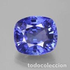 Coleccionismo de gemas: TOPACIO AZUL DE 8,20 KILATES CON CERTIFICADO AGI - MIDE 1,3 X 1,2 X 0,7 CENTIMETROS Nº3. Lote 195016611