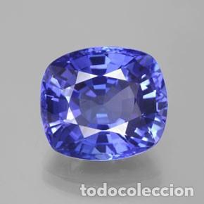 TOPACIO AZUL DE 6,15 KILATES CON CERTIFICADO AGI - MIDE 1,3 X 1,1 X 0,6 CENTIMETROS Nº4 (Coleccionismo - Mineralogía - Gemas)