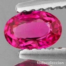 Coleccionismo de gemas: MORGANITA ROSA DE 7,05 KILATES CON CERTIFICADO AGI - MIDE 1,3 X 0,8 X 0,6 CENTIMETROS Nº8. Lote 195017615
