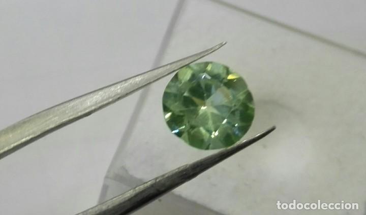 AGUAMARINA VERDE. (Coleccionismo - Mineralogía - Gemas)