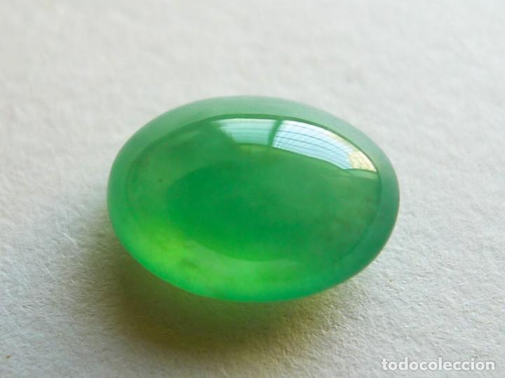 Coleccionismo de gemas: CABUJÓN EN JADE JADEITA. REF 316 - Foto 3 - 195522478